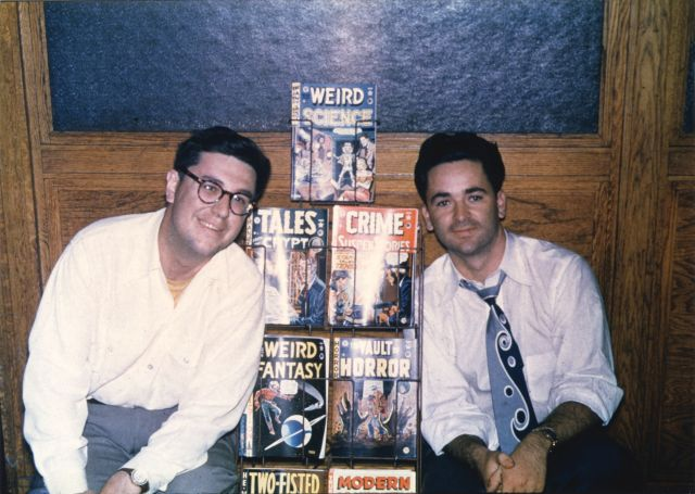 Bill Gaines and Al Feldstein in 1950