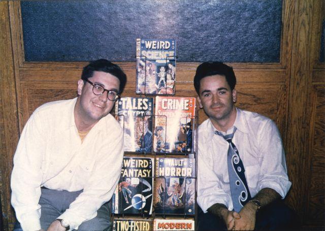Bill Gaines and Al Feldstein in 1950