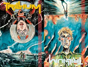 Flip-book covers from Issue #1